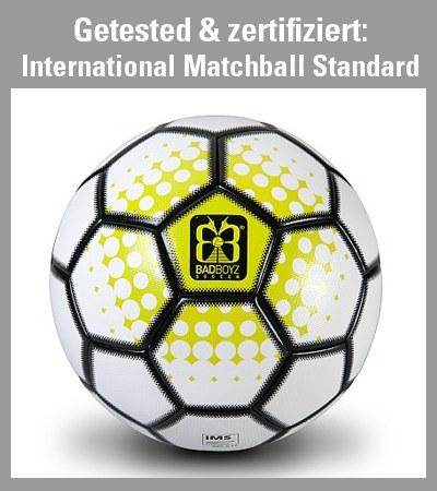 zertifizierter Matchball